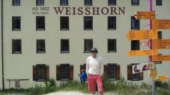 Hotel Weisshorn-un italiano sulla vetta